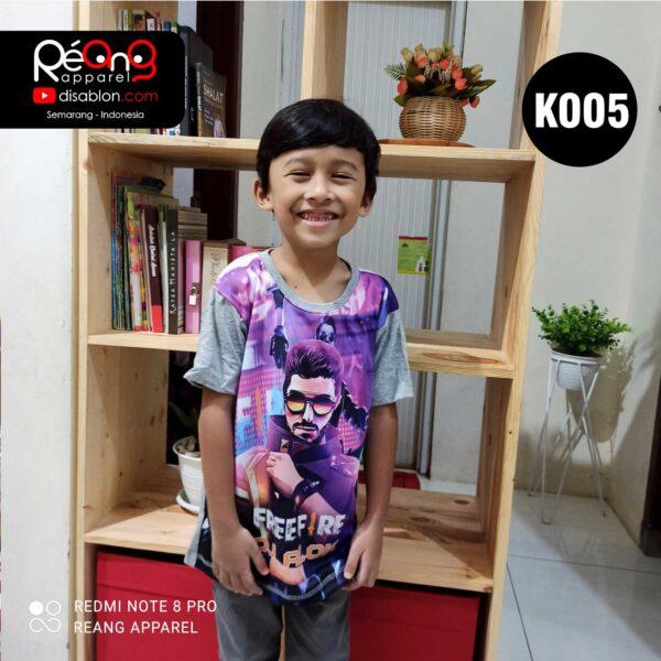 Kaos Free Fire DJ Alok