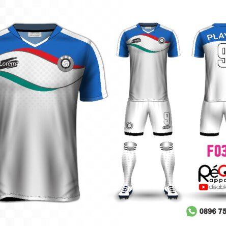 Jersey Futsal Setelan Custom Desain F0371