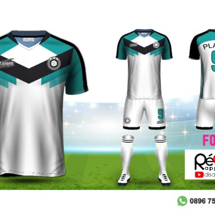 Jersey Futsal Setelan Custom Desain F0301
