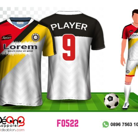 Jersey Futsal Setelan F0522