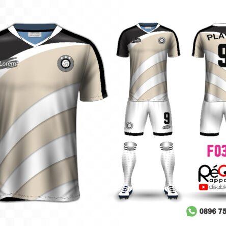 Jersey Futsal Setelan Custom Desain F0379