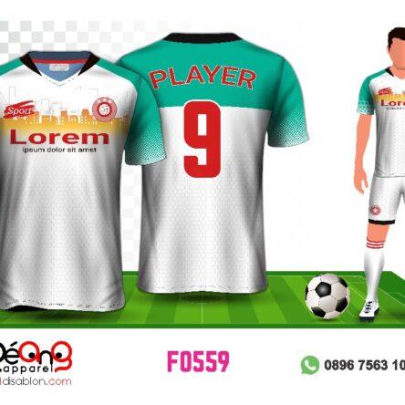Jersey Futsal Setelan F0559