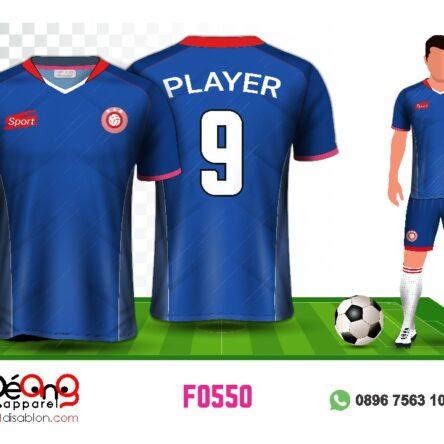 Jersey Futsal Setelan Custom Desain F0550