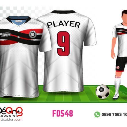 Jersey Futsal Setelan Custom Desain F0548