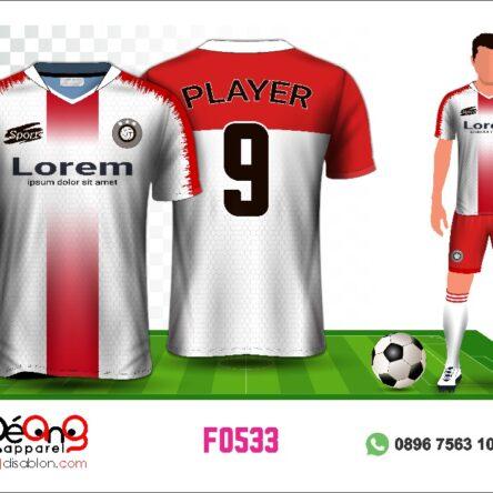 Jersey Futsal Setelan F0533