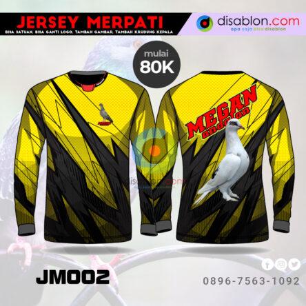 Jersey Merpati Lengan Panjang Hoodie JM02
