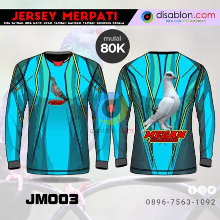 Jersey Merpati Lengan Panjang Hoodie JM03